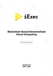iExec RLC's Whitepaper