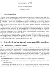 Monero's Whitepaper